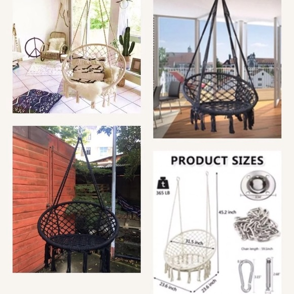 Stamper Hammock Chair. Brand New With Accessories